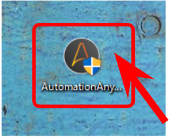Automation Anywhere exeファイルの実行